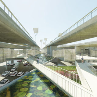 ROOTED LANDSCAPE_ Amsterdam _ Europan 15